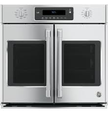 ge café series 30 built in french door single convection wall oven
