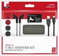 <b>Комплект аксессуаров Speedlink</b> 7-IN-1 <b>Starter Kit</b> для Nintendo ...