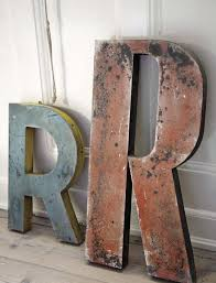 Vintage Large Metal Letters Unique 34 Best Metal Letters Images On  Pinterest Letters Metal Letters Design