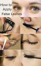 eye makeup tutorial apply false lashes like a pro or a kardashian how to apply eyeshadow apply eye makeup if you wear gles