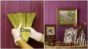 creative diy textured walls using a