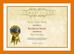 9 10 Free Downloadable Certificate Templates
