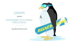United States Army Military Police School Usamps Abbreviation Stands For United States Army Military Police School