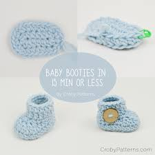 Baby Booties Crochet Pattern Custom Design Inspiration