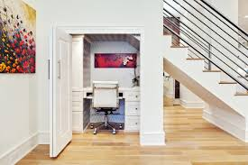 under stairs office. Mesmerizing About Office Under Stairs On Pinterest Small White Desk Home And Mini Build