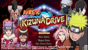 Naruto Shippuden Kizuna Drive (part 1) - PSP GAMES Gameplay
