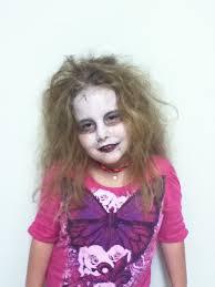little zombie makeup