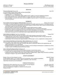 Resume Examples Resume Cv