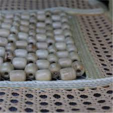 wagan wood beaded and rattan seat cover wa 9912