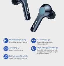 Tặng Cáp Sạc Nhanh 3A] Tai Nghe Không Dây Bluetooth 5.0 VIVAN T200 True  Wireless Chống Nước IPX4 Cảm Ứng Thông Minh Playtime Đến 22H - BẢO HÀNH  CHÍNH HÃNG 1 ĐỔI 1