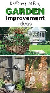 cheap garden ideas. 10 Cheap And Easy Garden Improvement Ideas