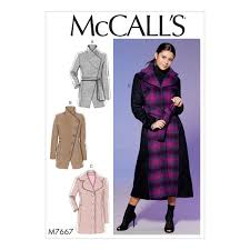 Mcalls Patterns Mesmerizing McCalls Patterns M48 Misses Princess Seamed Coats and Belt with