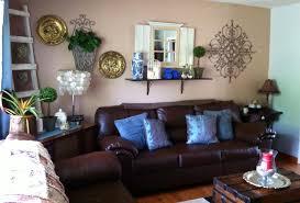 Living Room, Impressive Brown Living Room Ideas Blue And Brown Living Room  Living Room Design ...