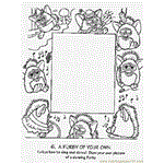 Furby Coloring Page Free Miscellaneous Coloring Pages