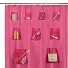 shower curtain liner with pockets heavenly shower curtain liner with pockets pink fabric set 12 rings
