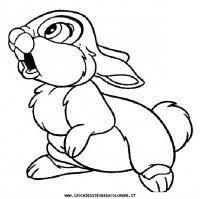 Disegni Da Colorare Di Bambi Il Film Disney Del Tenero Cerbiatto