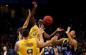 Jermaine Anderson, Ivan Elliott - Ivan Elliott Photos - Basketball Loewen  Braunschweig v Phoenix Hagen - BBL - Zimbio