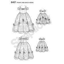 Belle Dress Pattern New Design Ideas