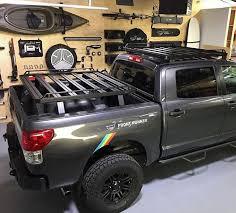 Toyota Tundra Pick-Up Truck (2007-Current) Slimline II Load Bed Rack ...