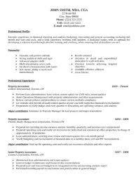 45 Impressive Cpa Resume Resume Template