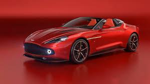 2018 Aston Martin Vanquish Zagato Speedster Top Speed