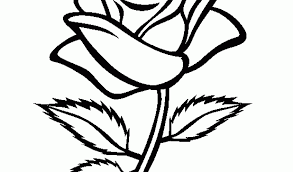 Small Picture Rose Flower Coloring Pages Coloring Coloring Pages