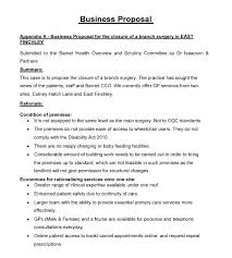 Managed Service Proposal Example Sample Template For Services