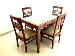 enchanting glass wood dining table wooden glass dining table designs glass top wood dining table splendid