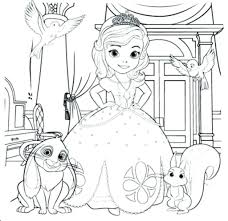 Sofia The First Coloring Book Beautiful Gallery Top Free Printable
