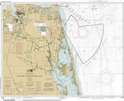 Virginia Aeronautical Chart Virginia Authentic Noaa Nautical Charts On Canvas