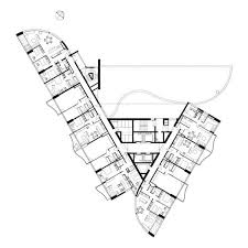 1844 best arch_plans maps images on pinterest arches, floor Floor Plan App Camera the extended triangular plan shape of the 32 storey tower Create a Floor Plan Drawing