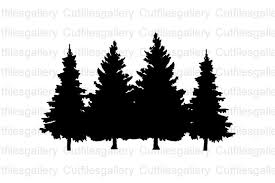 Are you searching for paw print png images or vector? Pine Tree Svg Christmas Tree Svg Graphic By Cutfilesgallery Creative Fabrica