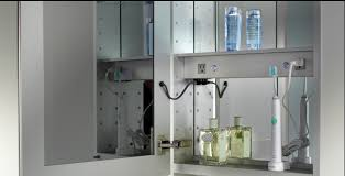 medicine cabinet with outlet. Interesting With LuxuryMedicineCabinetscom Mirrored Medicine Cabinets With Lights U0026  Electrical Outlets Products By Glasscrafters  Luxury Inside Cabinet With Outlet Pinterest