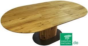 Tisch Oval Ausziehbar Esstisch Kirschbaum Design Weiss Landhaus