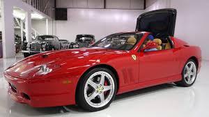 2005 Ferrari 575 Superamerica Power Convertible Top - YouTube