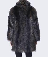 ps by paul smith faux fur coat