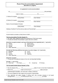 Agreement Templates 24 Free Roommate Agreement Templates Forms Word PDF 1