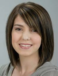 Hairstyle According To My Face 17 Best Haircuts For Round Faces Bobs Thick Hair And Woman