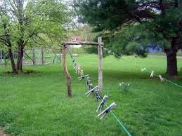 How To Make A Clothesline Simple Old Clothes Line Pictures How To Make A Clothesline Old Post