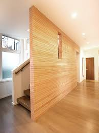 stacked wood wall houzz