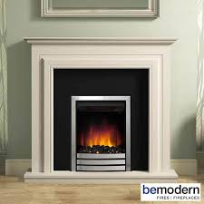 be modern whitland electric fireplace suite soft white timber surround