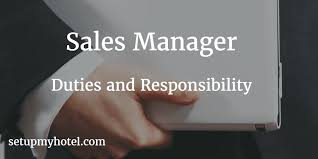 Marketing Officer Job Description Delectable 48 Duties And Responsibilities Of Hotel Sales Manager