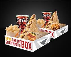 taco bell grilled stuffed nacho. Modren Stuffed Grilled Stuft Nacho Big Bell Box For 2 Throughout Taco Stuffed