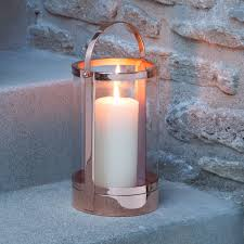 outdoor candles lanterns and lighting. polished copperperfectly light an outdoor barbeque or other gettogether with the canal street copper candle lantern hang this charming from candles lanterns and lighting s