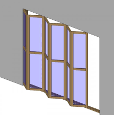 sliding folding door parametric