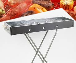 outdoor bbq grills. Wholesale-Hot New Outdoor Camping BBQ Grill Cooking Artifact Folding Stainless Steel Applicable Persons 6-18 People Bbq Grills I