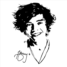 One Direction Wallpaper For Bedroom Aliexpresscom Buy Mural One Direction Harry Styles Wall Art