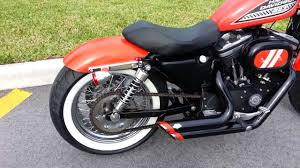 sweet harley davidson sportster wide tire bobber