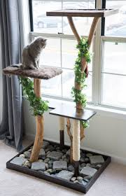 Wall mounted cat tree thor scandicat Patiofurn Diy Projects To Make For Your Cat Jpg 825x1278 Driftwood Cat Tower Cool Diy Hearing Aid Driftwood Cat Tower Cool Wwwtopsimagescom