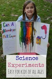 fast and easy science fair experiments